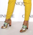 Petra Nemcova's Fendi sandals