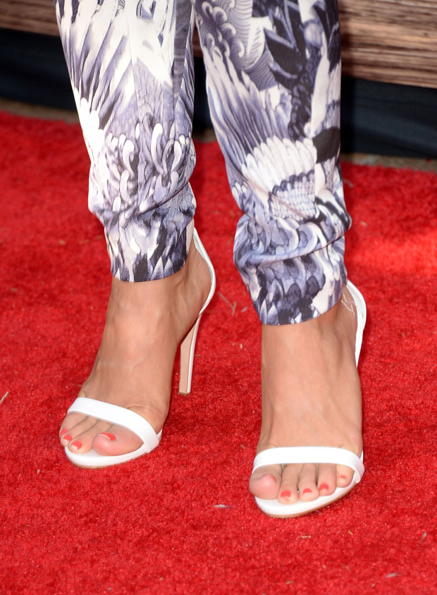 Julianne Hough's sandals