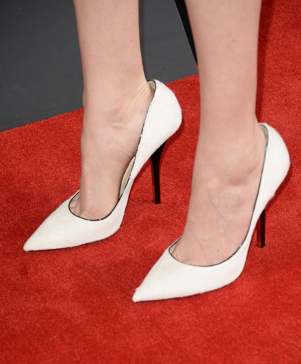 Krysten Ritter's heels