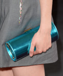 Krysten Ritter's Jimmy Choo 'Tube' clutch
