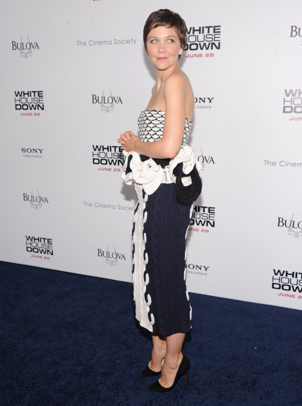 Maggie Gyllenhaal in Dior