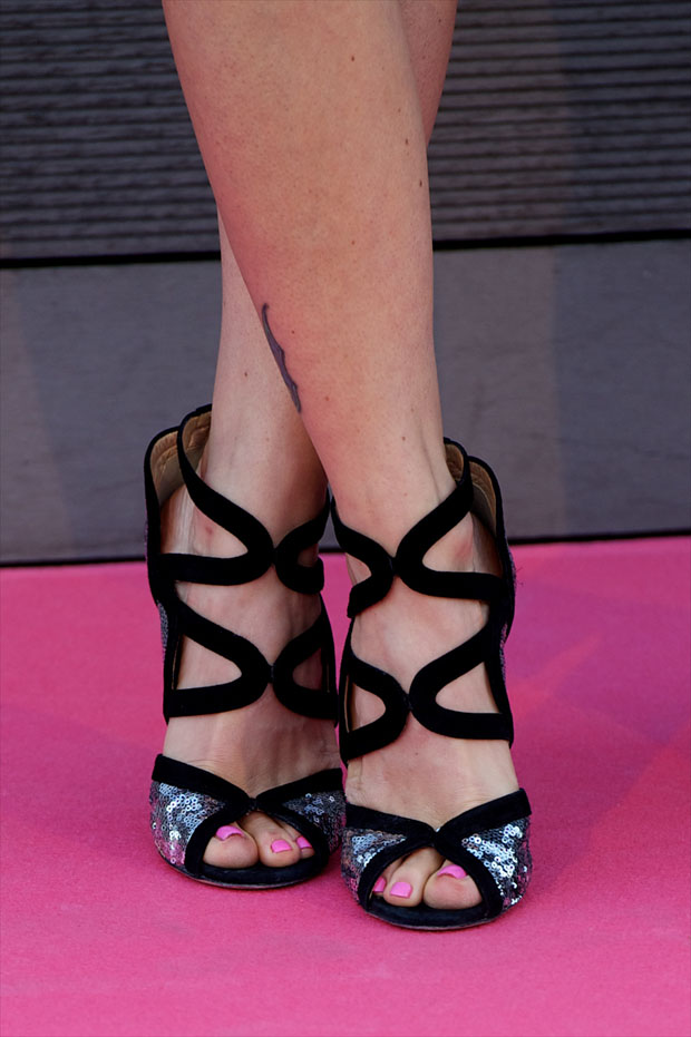 Juana Acosta's Jimmy Choo shoes