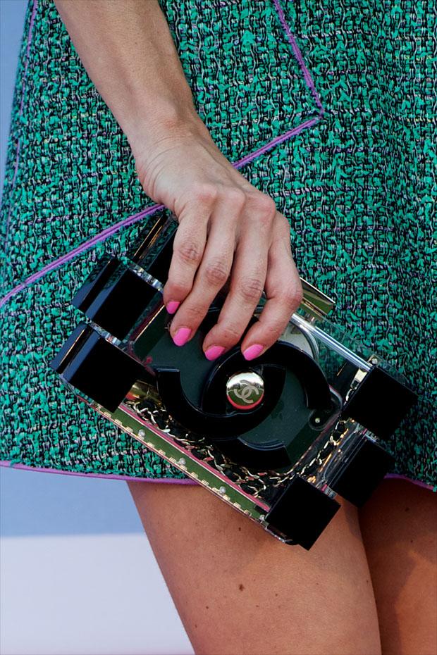Juana Acosta's Chanel bag