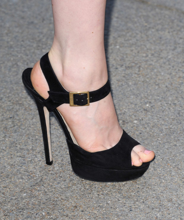 Bella Heathcote's Jimmy Choo shoes