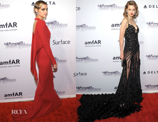 4th Annual amfAR Inspiration Gala New York Red Carpet Round Up 3