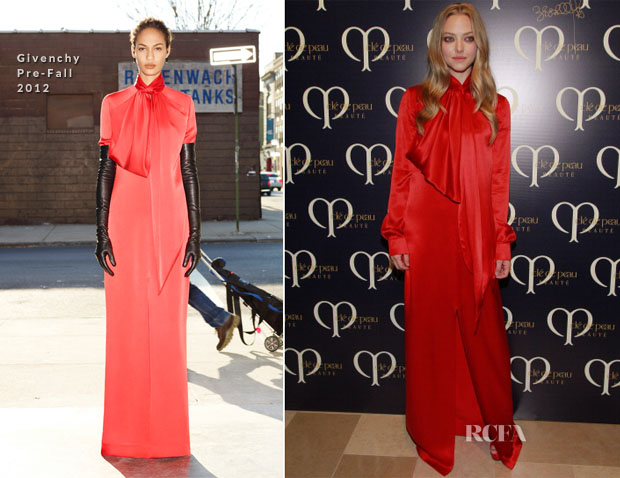 Amanda Seyfried In Givenchy Pre-Fall – Shiseido 'Cle De Peau Beaute' Gala Dinner