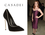Amy Adams' Casadei Pointed Toe Pumps