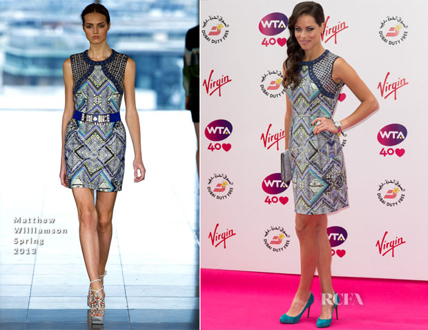 Ana Ivanovic In Matthew Williamson - Pre-Wimbledon Party