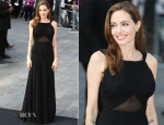 Angelina Jolie In Saint Laurent - 'World War Z' World Premiere