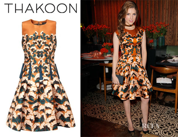 Anna Kendrick Thakoon dress