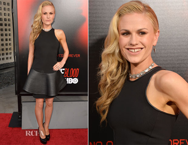 Anna Paquin In David Koma - HBO's 'True Blood' Season 6 Premiere