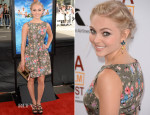 AnnaSophia Robb In Red Valentino - 'The Way, Way Back' Los Angeles Film Festival Premiere