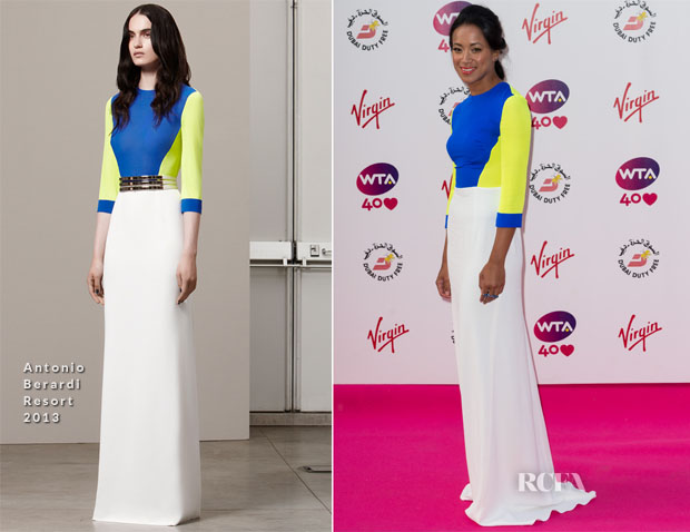 Anne Keothanvong In Antonio Berardi - Pre-Wimbledon Party