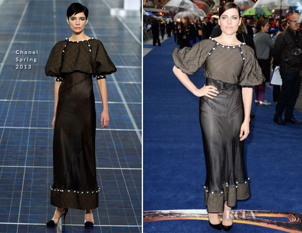 Ante Traue In Chanel - 'Man of Steel' London Premiere
