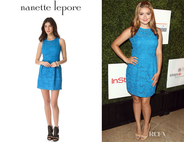 Ariel Winter's Nanette Lepore Treasure Dress
