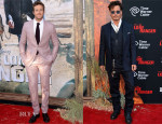 Armie Hammer In Tom Ford & Johnny Depp In Ralph Lauren - 'The Lone Ranger' LA Premiere