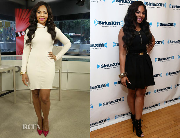 Ashanti In Michael Costello & Amen - The Today Show & SiriusXM Studios