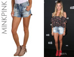 Ashley Tisdale's MinkPink Slasher Flick Shorts