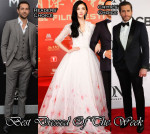 Best Dressed Of The Week - Jing Tian In Georges Hobeika Couture & Zachary Levi In Reiss