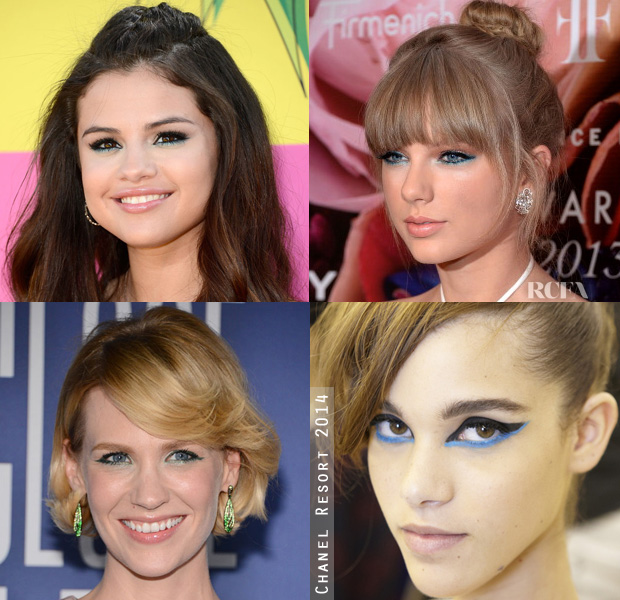 Beauty Trend Spotting Lining the Lower Eyelid