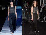 Berenice Bejo In Giorgio Armani - Giorgio Armani Hosts 'One Night Only' Roma