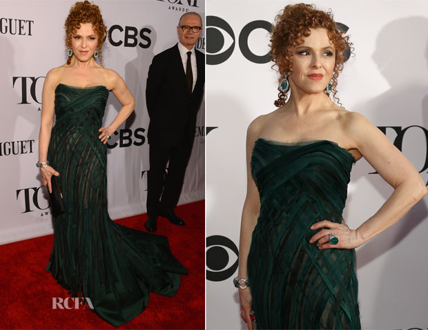 Bernadette Peters In Donna Karan Atelier - 2013 Tony Awards