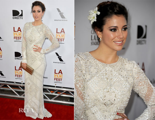 Blanca Suarez In Emilio Pucci - ' I'm So Excited' Los Angeles Film Festival Opening Night Gala Premiere