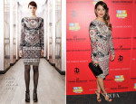 Blanca Suarez In Emilio Pucci - 'I'm So Excited' New York Screening