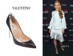 Brit Marling's Valentino 'Rockstud' Pumps