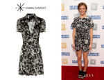 Brooklyn Decker's Isabel Marant 'Mira' Printed Dress