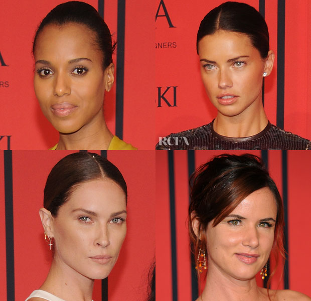 CFDA Fashion Awards Beauty Trend Spotting Barely-There Makeup