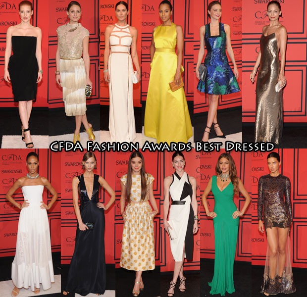 CFDA Fashion Awards Best Dressed
