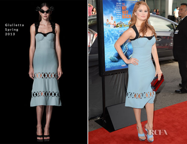 Debby Ryan In Giulietta - 'The Way, Way Back' Los Angeles Film Festival Premiere
