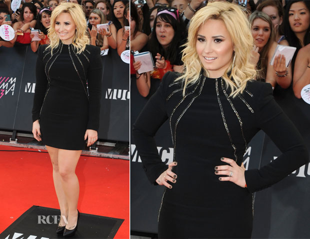 Demi Lovato In Saint Laurent - 2013 MuchMusic Video Awards