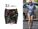 Diane Kruger's 3.1 Phillip Lim Canvas Bag