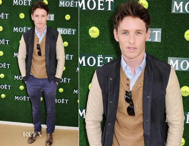 Eddie Redmayne In All Saints - Aegon Championships Queen's Club Finals