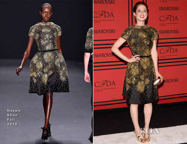 Ellie Kemper In Naeem Khan - 2013 CFDA Fashion Awards