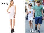 Emma Roberts' Twenty Lace Tank Dress