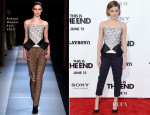 Emma Watson In Roland Mouret – 'This is the End' LA Premiere