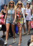 On 'The Other Women' Set With Cameron Diaz and Kate Upton
