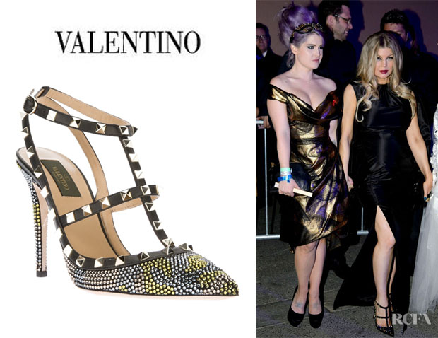 Fergie's Valentino 'Fancy' Embellished Pumps