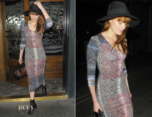 Florence Welch In Preen - Groucho Club