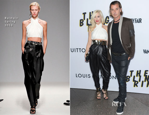 Gwen Stefani In Balmain - 'The Bling Ring' LA Premiere