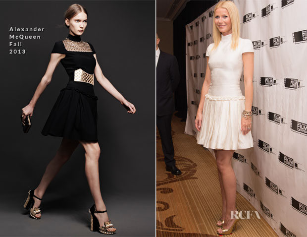 Gwyneth Paltrow  In Alexander McQueen - Gene Siskel Film Center Gala Honoring Gwyneth Paltrow