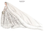 Valentino Garavani Creates Wedding Dress for Princess Madeleine of Sweden