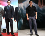 Henry Cavill In Giorgio Armani - 'Man of Steel' Shanghai Film Festival Premiere & Photocall