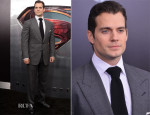 Henry Cavill In Tom Ford - 'Man of Steel' World Premiere