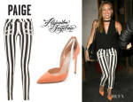 Hilary Duff's Paige 'Edgemont' Skinny Jeans And Alejandro Ingelmo 'Flavia d'Orsay' Pumps