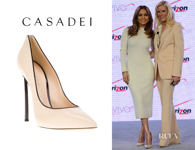 Jennifer Lopez' Casadei Stiletto Pumps