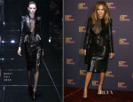 Jennifer Lopez In Gucci - 'Chime For Change: The Sound Of Change Live' Media Room